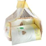 Комплект в кроватку из 6 предметов Kidboo серия FLUFFY SHEEP