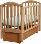 Детская кроватка Кубаньлесстрой АБ 17.3 Лилия Люкс с маятником продольного качания