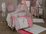 Комплект в кроватку из 6 предметов Kidboo серия BELLO FIORE
