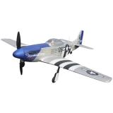 Радиоуправляемый самолет Dynam mini P-51D RTF 2.4G - DY8964