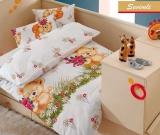 Комплект в кроватку из 6 предметов Kidboo UPS PUPS серия Мишка