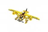 Конструктор 2 в 1 (самосвал и самолет) 361 деталь QiHui QH6802