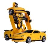 Радиоуправляемый робот-трансформер JQ Troopers Fierce - TT661