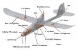 Самолет Hubsan с камерой и системой стабилизации полета H301S