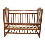 Кроватка Ивашка Мой малыш 1 колесо/качалка