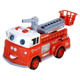 Радиоуправляемая пожарная машина с мыльными пузырями - R216