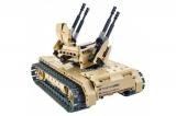 Радиоуправляемый конструктор зенитный танк QiHui Technics 4CH 2.4G 457 деталей QiHui QH8012