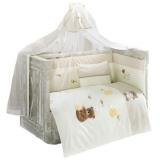 Комплект в кроватку из 6 предметов Kidboo серия HONEY BEAR LINEN