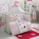 Комплект в кроватку из 6 предметов Kidboo серия LITTLE LADYBUG