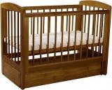 Детская кроватка Кубаньлесстрой АБ 16.3 Ромашка с продольным маятником