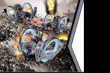 Радиоуправляемая боевая машина Keye Toys Space Warrior 2.4GHz (лазер, пульки) Keye Toys KT802