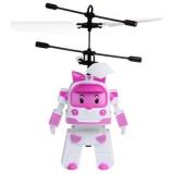 Радиоуправляемая игрушка - вертолет RoboCar Поли (Amber) - 7018-518