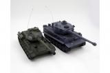 Радиоуправляемый танковый бой T34 Tiger ZEGAN 99824
