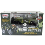 Радиоуправляемый военный джип Land Battles 1:10 - MYX302