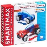 Магнитный конструктор Bondibon Специальный (Special) SmartMax набор: Гонщики Сэм и Стэн, арт.207