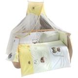 Комплект в кроватку из 6 предметов Kidboo серия LITTLE BEAR