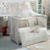 Комплект в кроватку из 6 предметов Kidboo CUTE BEAR BEIGE