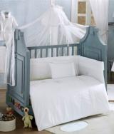 Комплект в кроватку из 7 предметов Kidboo Spring Saten