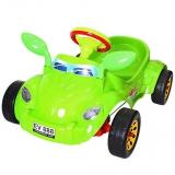 ОР09-903 Машина педальная Молния с музыкальным рулем