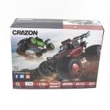Радиоуправляемая трагги CraZon Green Ghost / Sprint 2WD 1:28 (сменные колеса и корпус) - 172802